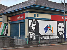 Bookmakers Meenan Square Derry