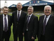 John Nixon, Steve Pattison, David Allen, Andrew Jenkins