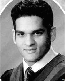 Mohammed Momin Khawaja in an undated yearbook photo