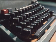 Typewriter, BBC