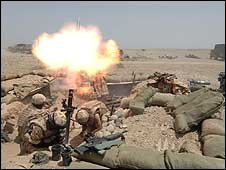 British troops in Helmand, May 2007