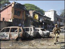 Site of Guwahati bomb blast