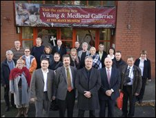 Members of Manx National Heritage and Saga Trail Association