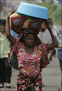 Personas desplazadas por el conflicto