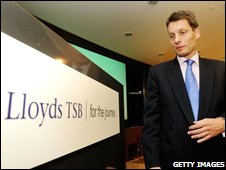 HBOS chief executive Andy Hornby