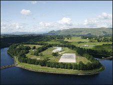 Loch Katrine water treatment. Pic by Scottish Water