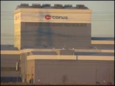 Corus steelworks in Shotton