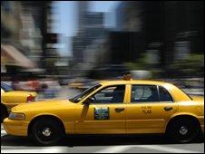 A New York taxi