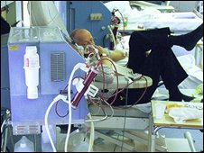 Patient in hospital (generic)