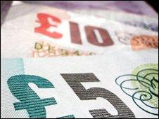 five pound note