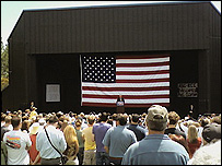 Bill Clinton speaks at Grants Pass