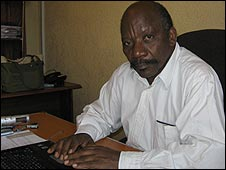 Oxfam humanitarian advocacy officer Godefroid Marhegane