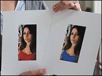 Fotos mostradas en el estudio (Foto: Universidad de Rochester)