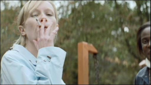 Image from new NHS stop smoking TV ad