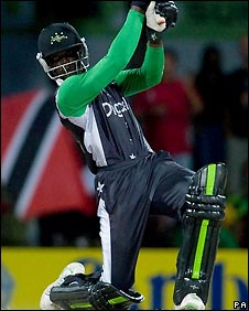 Andre Fletcher finished with 90 off 66 balls
