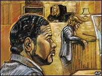 Charles Taylor Jr. en juicio en Miami