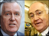 Peter Hain and Michael Howard