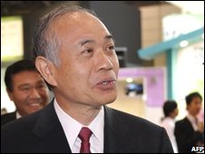 Sony president Ryoji Chubachi