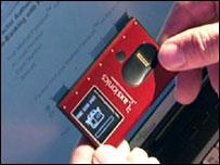 Siemens Internet Passport device