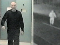 Convicted burglar on CCTV and filmed in custody