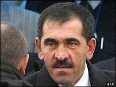 Yunus-Bek Yevkurov, new President of Russia's Republic of Ingushetia, 31 Oct 08