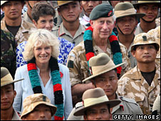 Prince Charles and Duchess of Cornwall, Brunei