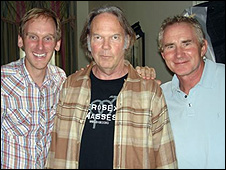 Ben Whalley, Neil Young, Marc Cooper