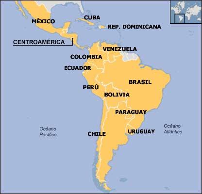 los paises de america latina: