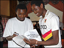 Paul Kamau and Erik Makori
