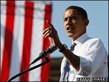 Barack Obama campaigns in Iowa, 31 Oct