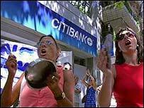 Protesta en Argentina (2001)