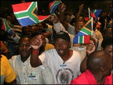 Delegates at the breakaway conference in Johannesburg