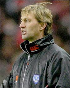 Portsmouth boss Tony Adams