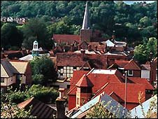 Rooftops in Godalming [pic: Godalming Town Council]