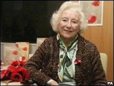 Dame Vera Lynn at the book launch