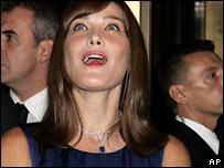Супруга президента Франции Карла Бруни-Саркози