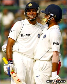 VVS Laxman and Sourav Ganguly