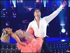 Andrew Castle on Strictly Come Dancing