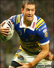 England and Leeds stand-off Danny McGuire