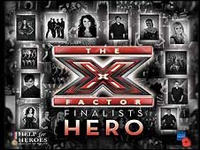 X Factor single Hero