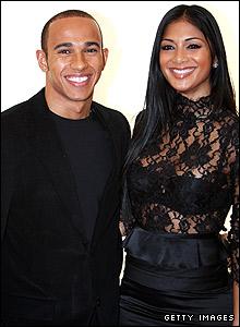 Lewis Hamilton and girlfriend Nicole Scherzinger