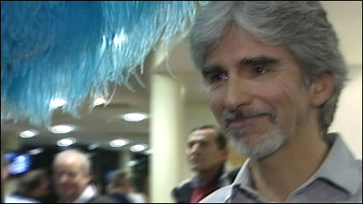 Former Formula One world champion Damon Hill