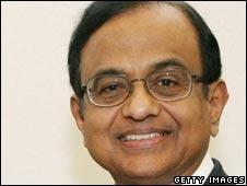 Finance Minister Palaniappa Chidambaram