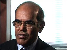 Central bank governor Duvvuri Subbarao