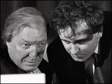 Charles Haughey and Bertie Ahern