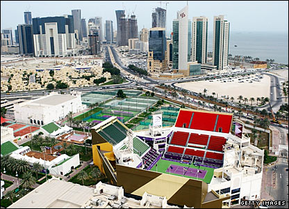 Doha will host the finale of the women's tennis year for the first time as the WTA Tour Championships come to town