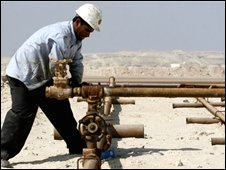 Oil worker for the Bahrain Petroleum Company