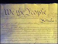 Constitución de Estados Unidos.