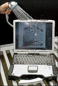 Computadora que se puede mojar