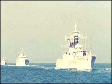 Bangladesh naval vessel (archive image)
